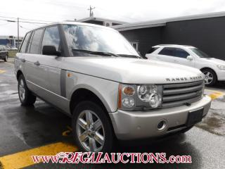 Used 2004 Land Rover RANGE ROVER  4D UTILITY 4.6 4WD for sale in Calgary, AB