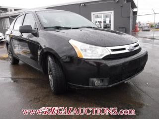 Used 2009 Ford FOCUS SES 4D SEDAN for sale in Calgary, AB