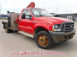 Used 2004 Ford F450 XL SD FLATDECK for sale in Calgary, AB