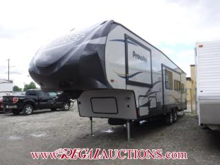 Used 2015 HEARTLAND PROWLER SERIES 295  FIFTH WHEEL for sale in Calgary, AB