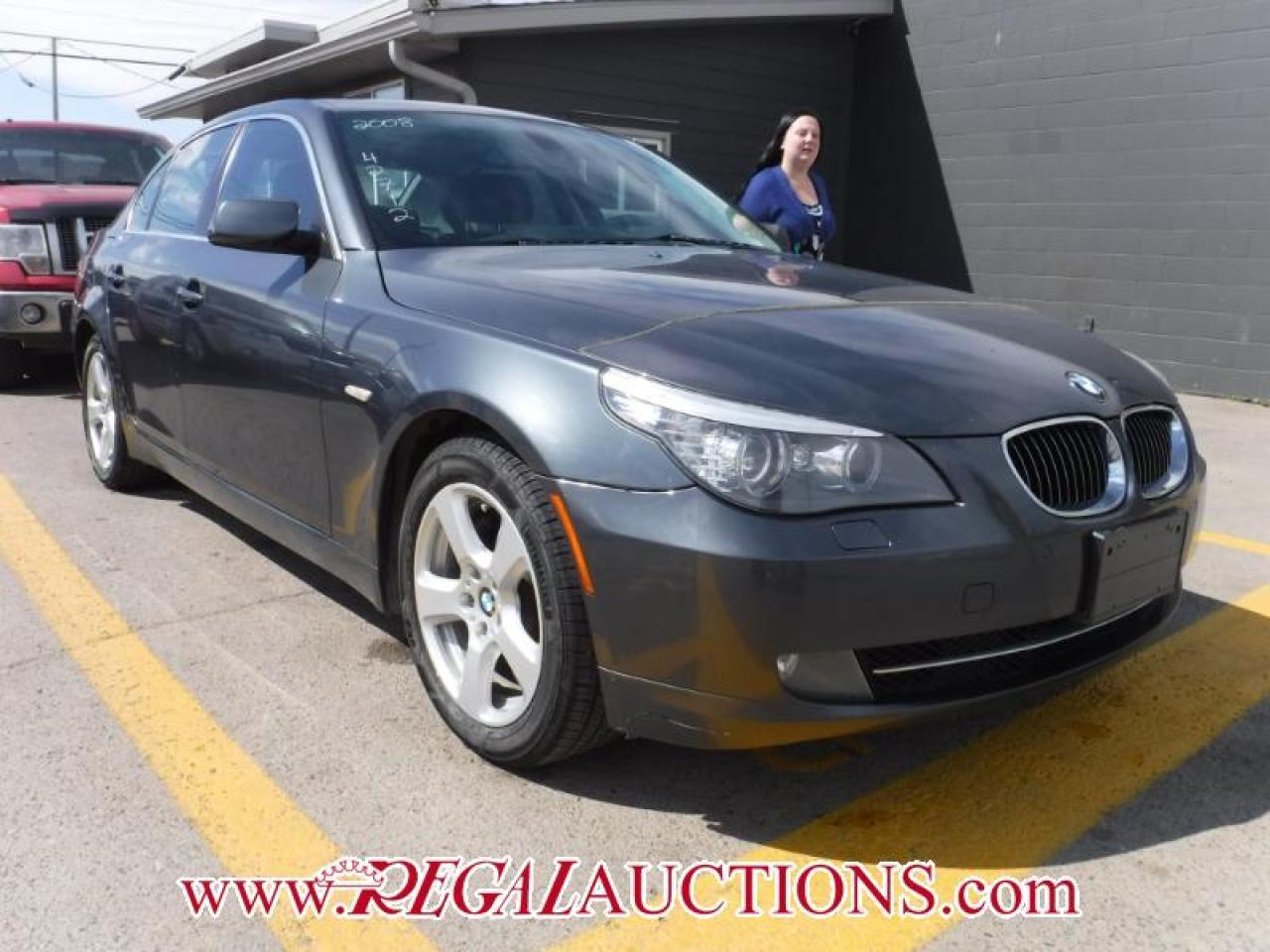 Photo of Grey 2008 BMW 5 SERIES 528XI 4D SEDAN AWD