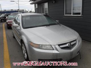 Used 2006 Acura TL  4D SEDAN for sale in Calgary, AB