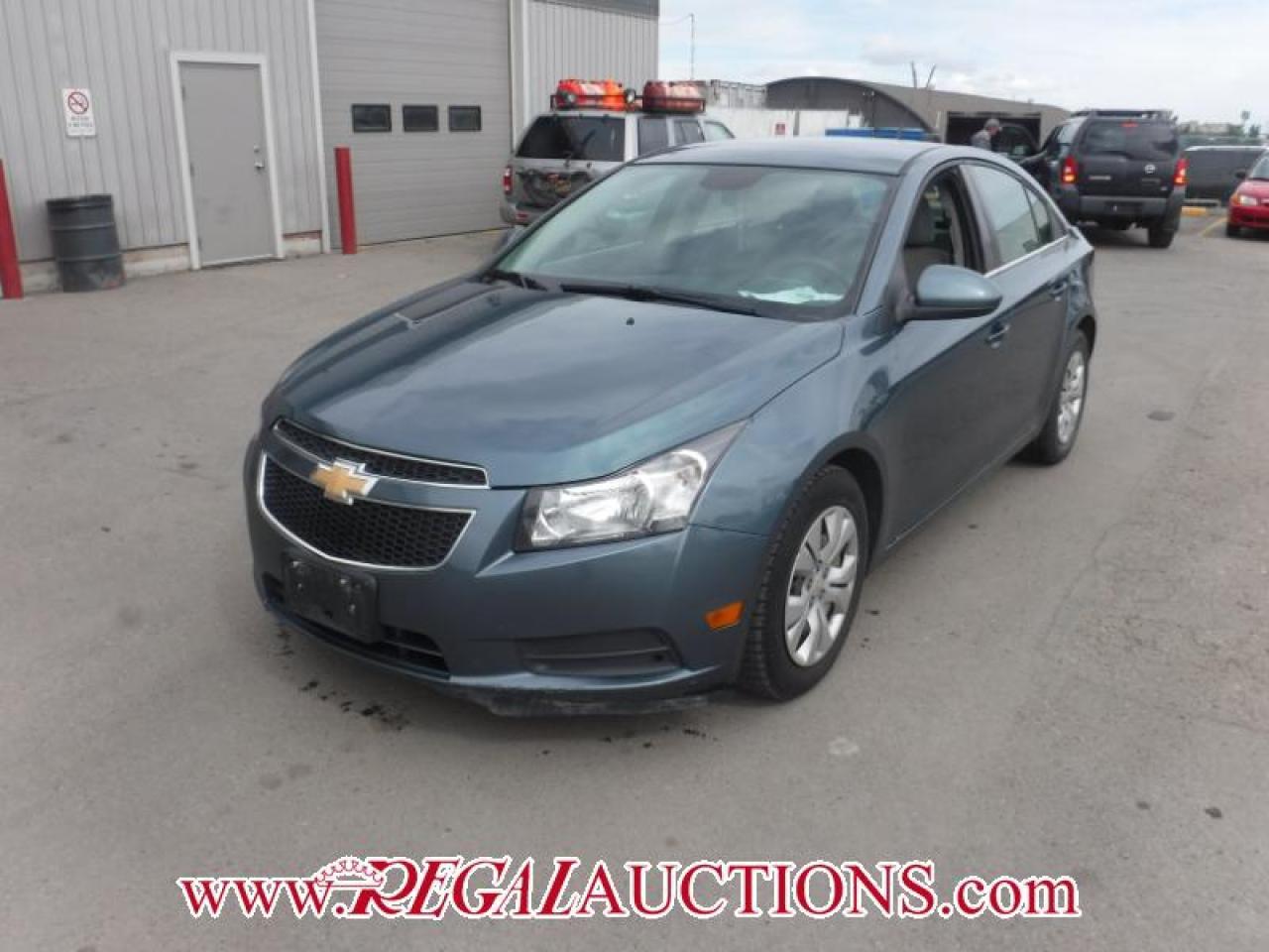 Photo of Blue 2012 Chevrolet CRUZE LT 4D SEDAN TURBO 1.4L
