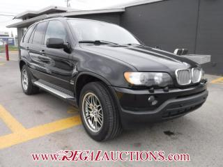 Used 2003 BMW X5 4.4I 4D UTILITY  AWD for sale in Calgary, AB