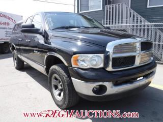 Used 2003 Dodge RAM 1500 SLT 4D QUAD CAB 4WD for sale in Calgary, AB