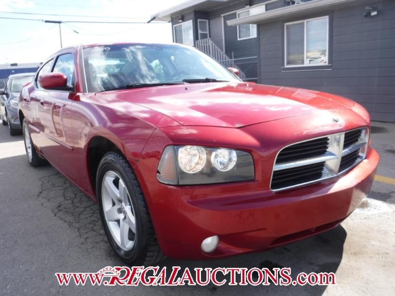 Photo of Red 2010 Dodge CHARGER SXT 4D SEDAN