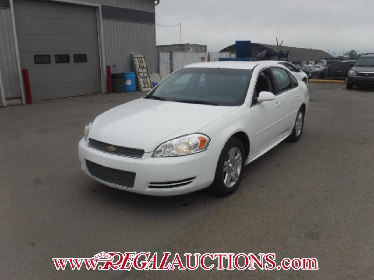 Photo of White 2013 Chevrolet IMPALA LT 4D SEDAN 3.6L