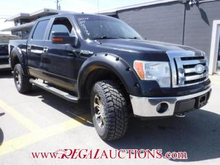 Used 2009 Ford F150 XLT CREW CAB 4WD for sale in Calgary, AB