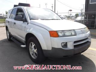 Used 2003 Saturn VUE  4D UTILITY  AWD for sale in Calgary, AB