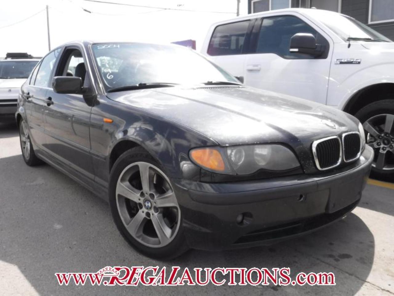 Photo of Black 2004 BMW 3 SERIES 330I 4D SEDAN