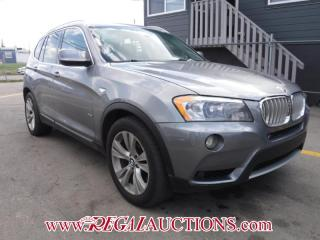 Used 2011 BMW X3 XDRIVE35I 4D UTILITY AWD for sale in Calgary, AB