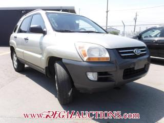 Used 2006 Kia SPORTAGE LX 4D UTILITY V6 4WD for sale in Calgary, AB