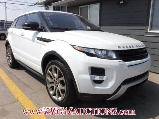 Used 2012 Land Rover RANGE ROVER EVOQUE  4D UTILITY AWD for sale in Calgary, AB