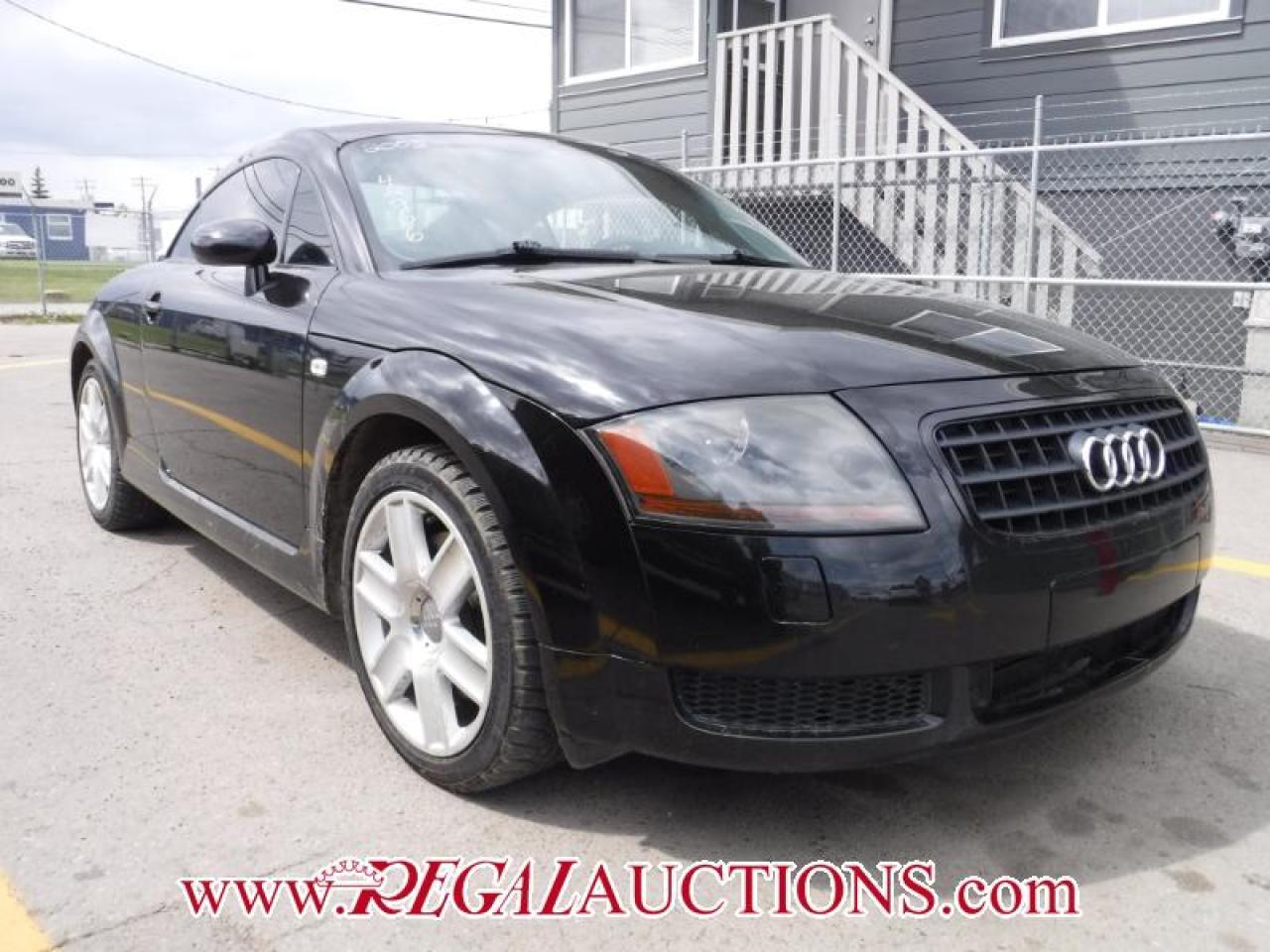 Photo of Black 2005 Audi TT  2D COUPE