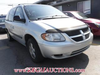 Used 2007 Dodge GRAND CARAVAN BASE WAGON for sale in Calgary, AB