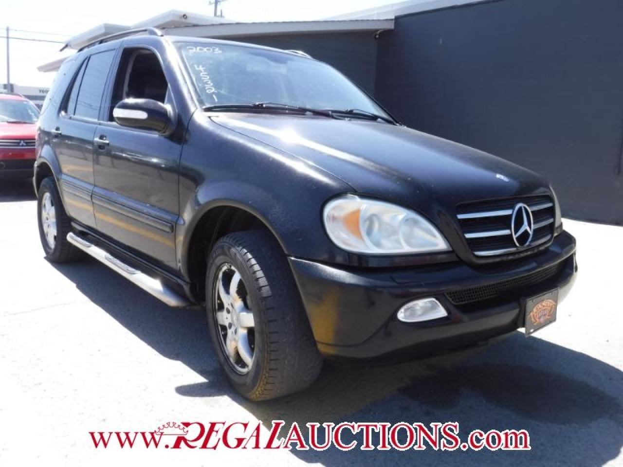 Photo of Black 2003 Mercedes-Benz M-CLASS  4D UTILITY 4WD