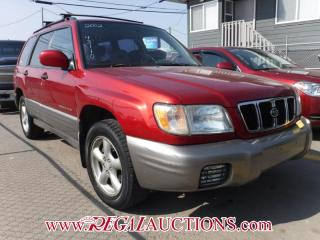 Used 2002 Subaru FORESTER S 4D UTILITY AWD for sale in Calgary, AB