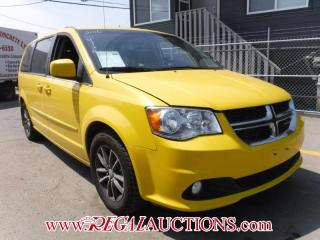 Used 2016 Dodge GRAND CARAVAN SXT WAGON for sale in Calgary, AB