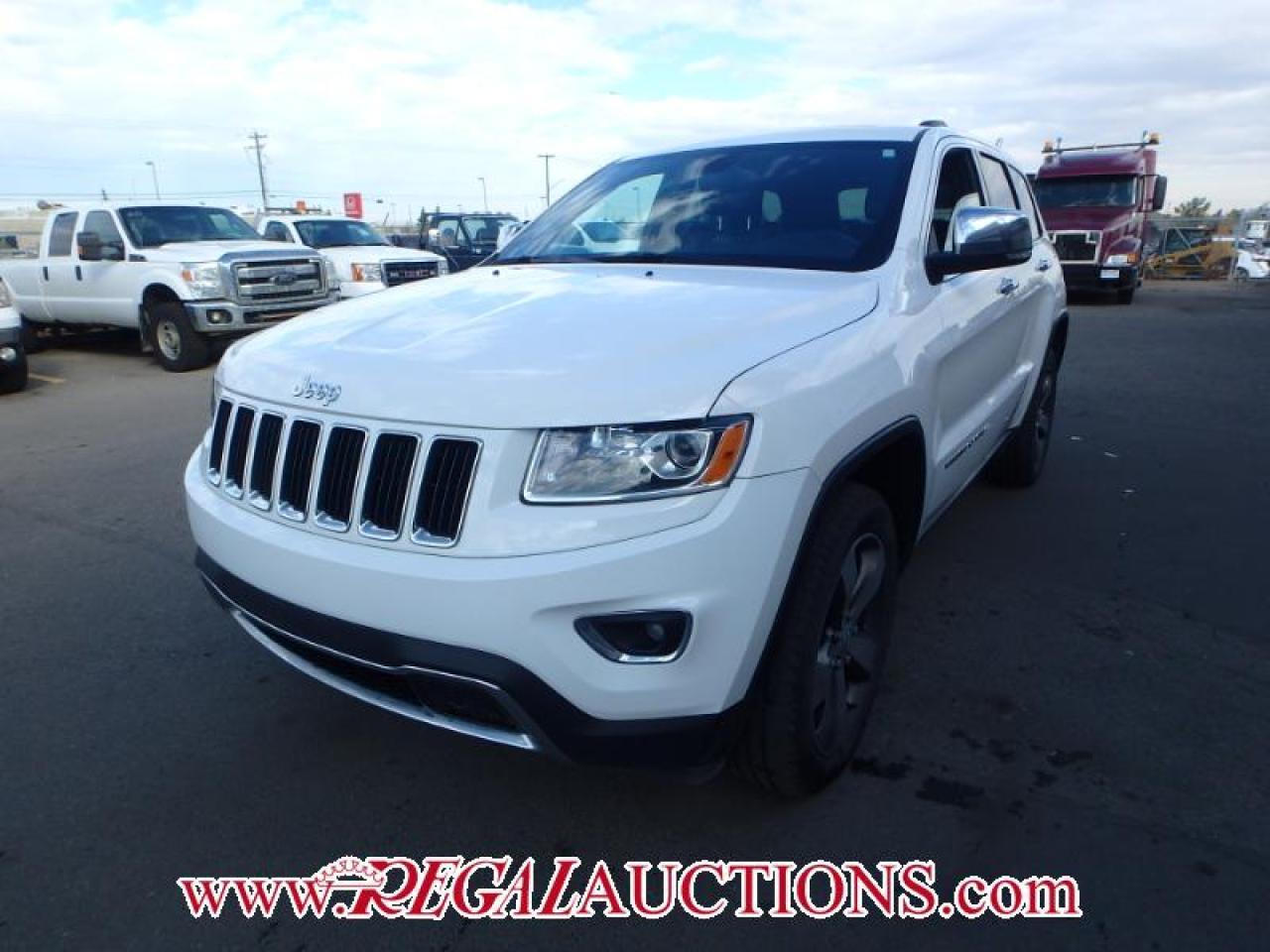 Photo of White 2014 Jeep Grand Cherokee