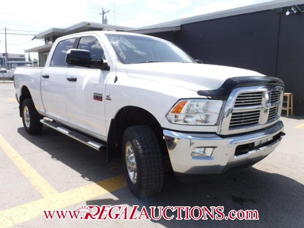 Photo of White 2011 Dodge RAM 2500 SLT CREW CAB