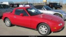 Used 1990 Mazda Miata MX-5 2 OWNERS INCLUDES HARDTOP for sale in Melville, SK