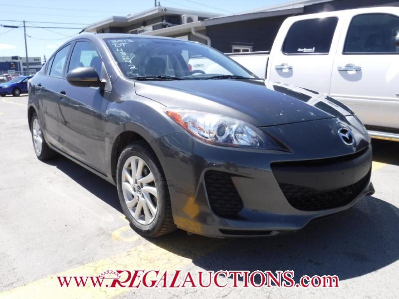 Photo of Grey 2013 Mazda MAZDA3  4D SEDAN AT