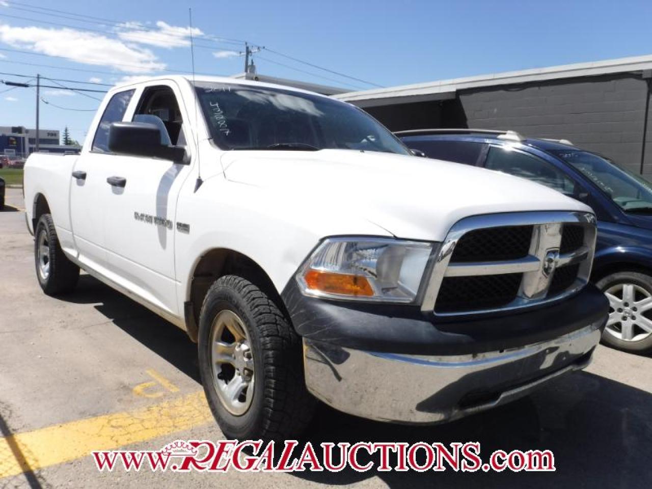 Photo of White 2011 Dodge RAM 1500 ST QUAD CAB 4WD