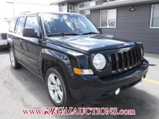 Used 2013 Jeep PATRIOT NORTH 4D UTILITY 4WD for sale in Calgary, AB