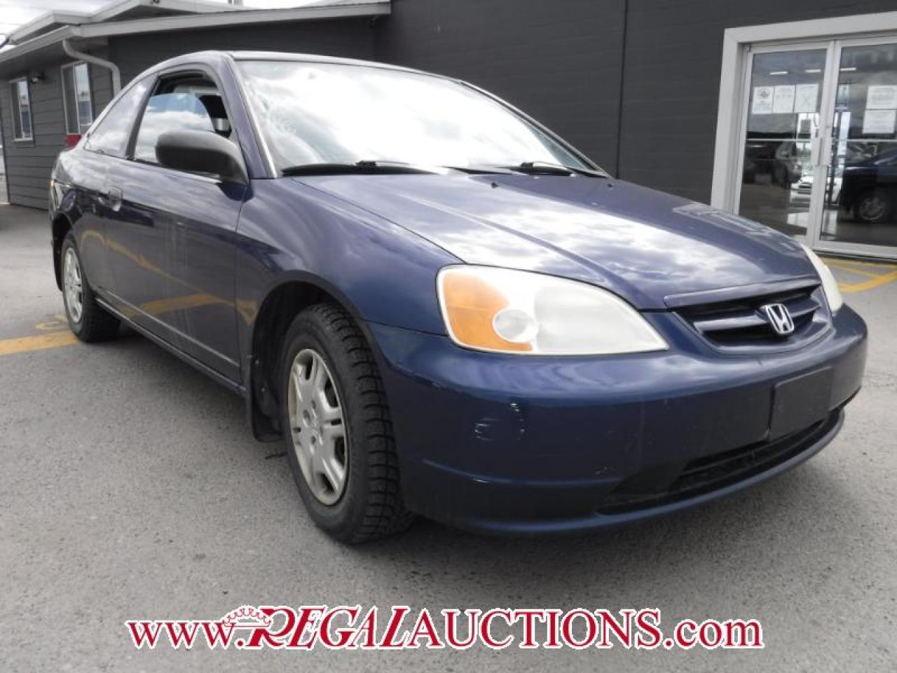 Photo of Blue 2001 Honda Civic