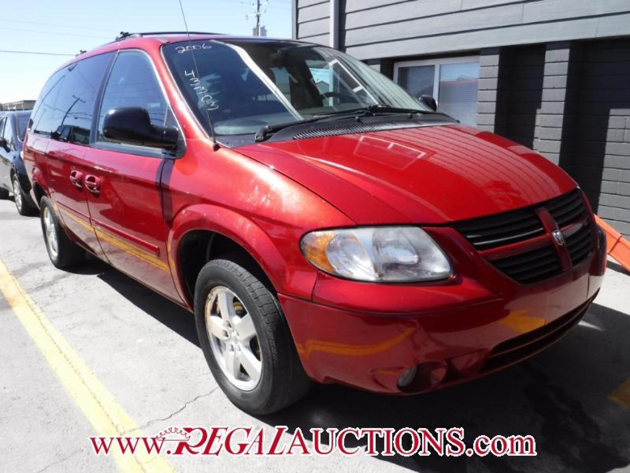 Photo of Red 2006 Dodge GRAND CARAVAN  4D WAGON