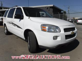Used 2008 Chevrolet UPLANDER  4D EXT WAGON for sale in Calgary, AB