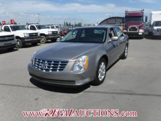 Used 2007 Cadillac DTS  4D SEDAN for sale in Calgary, AB