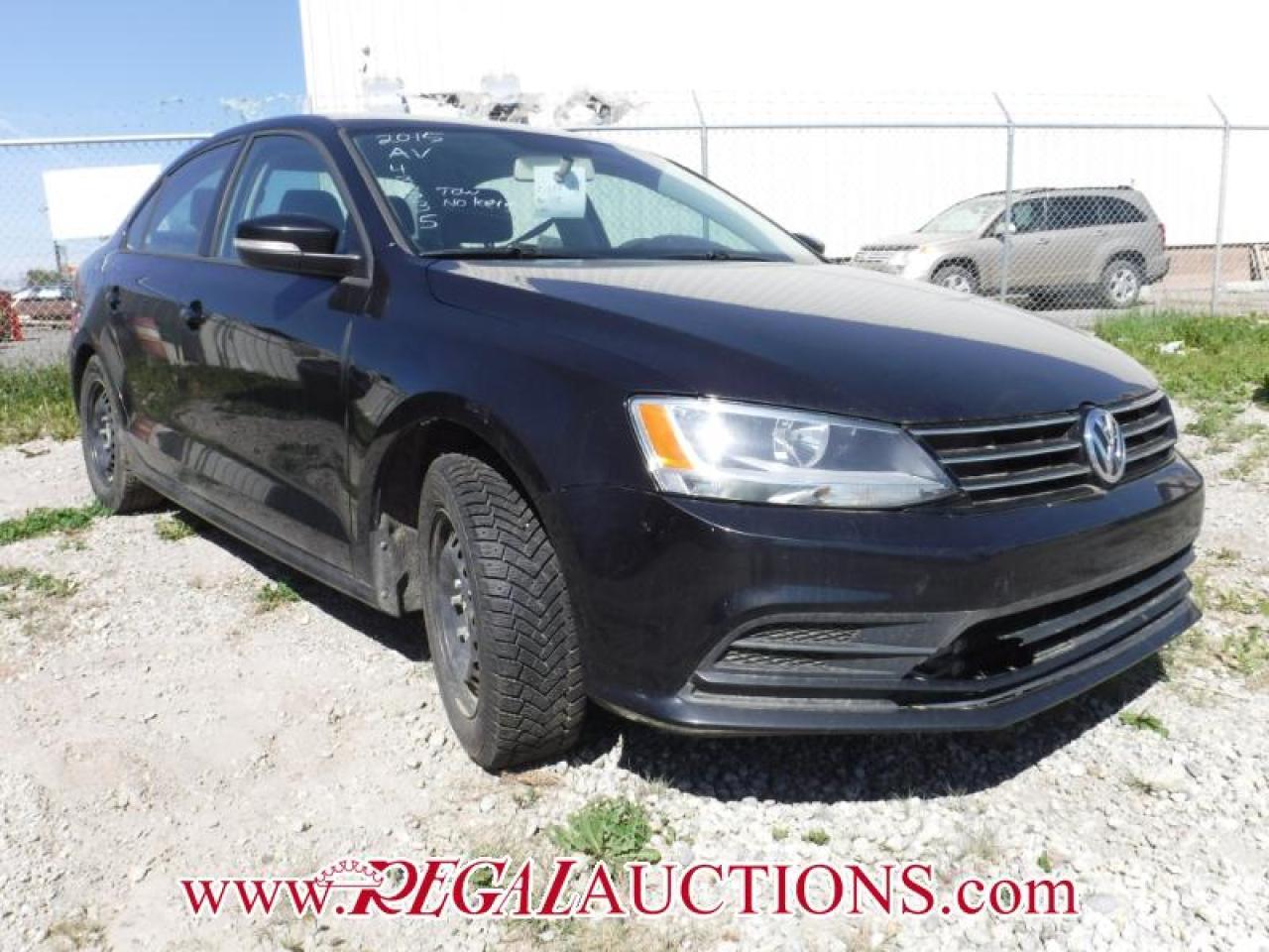 Photo of Black 2015 Volkswagen JETTA  4D SEDAN 2.0 AT