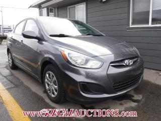 Used 2013 Hyundai ACCENT GL 4D SEDAN AT for sale in Calgary, AB