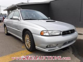 Used 1999 Subaru LEGACY GT 4D SEDAN AWD for sale in Calgary, AB