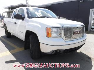 Used 2007 GMC SIERRA 1500 SLE EXT CAB 4WD for sale in Calgary, AB