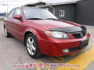 Used 2002 Mazda PROTEGE  4D SEDAN for sale in Calgary, AB