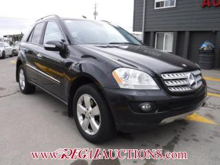 Used 2007 Mercedes-Benz M-CLASS ML500 4D UTILITY AWD for sale in Calgary, AB