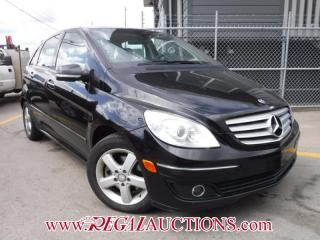 Used 2008 Mercedes-Benz B-Class B200 4D Hatchback for sale in Calgary, AB