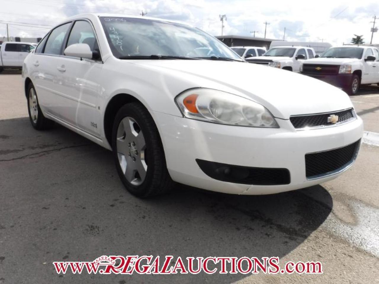 Photo of White 2006 Chevrolet IMPALA SS 4D SEDAN