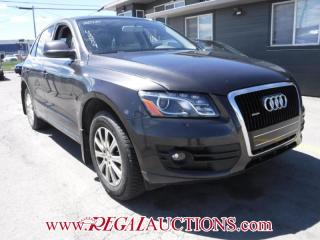 Used 2010 Audi Q5 BASE 4D UTILITY QTRO AWD 3.2 for sale in Calgary, AB