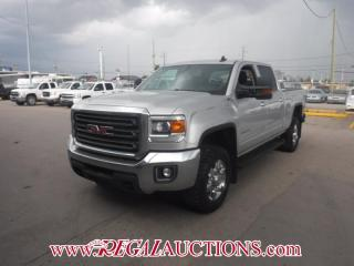 Used 2015 GMC SIERRA 2500 SLE 4D CREW CAB 4WD for sale in Calgary, AB