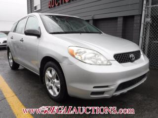 Used 2003 Toyota MATRIX BASE 4D HATCHBACK for sale in Calgary, AB