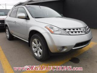 Used 2007 Nissan Murano 4D Utility AWD for sale in Calgary, AB