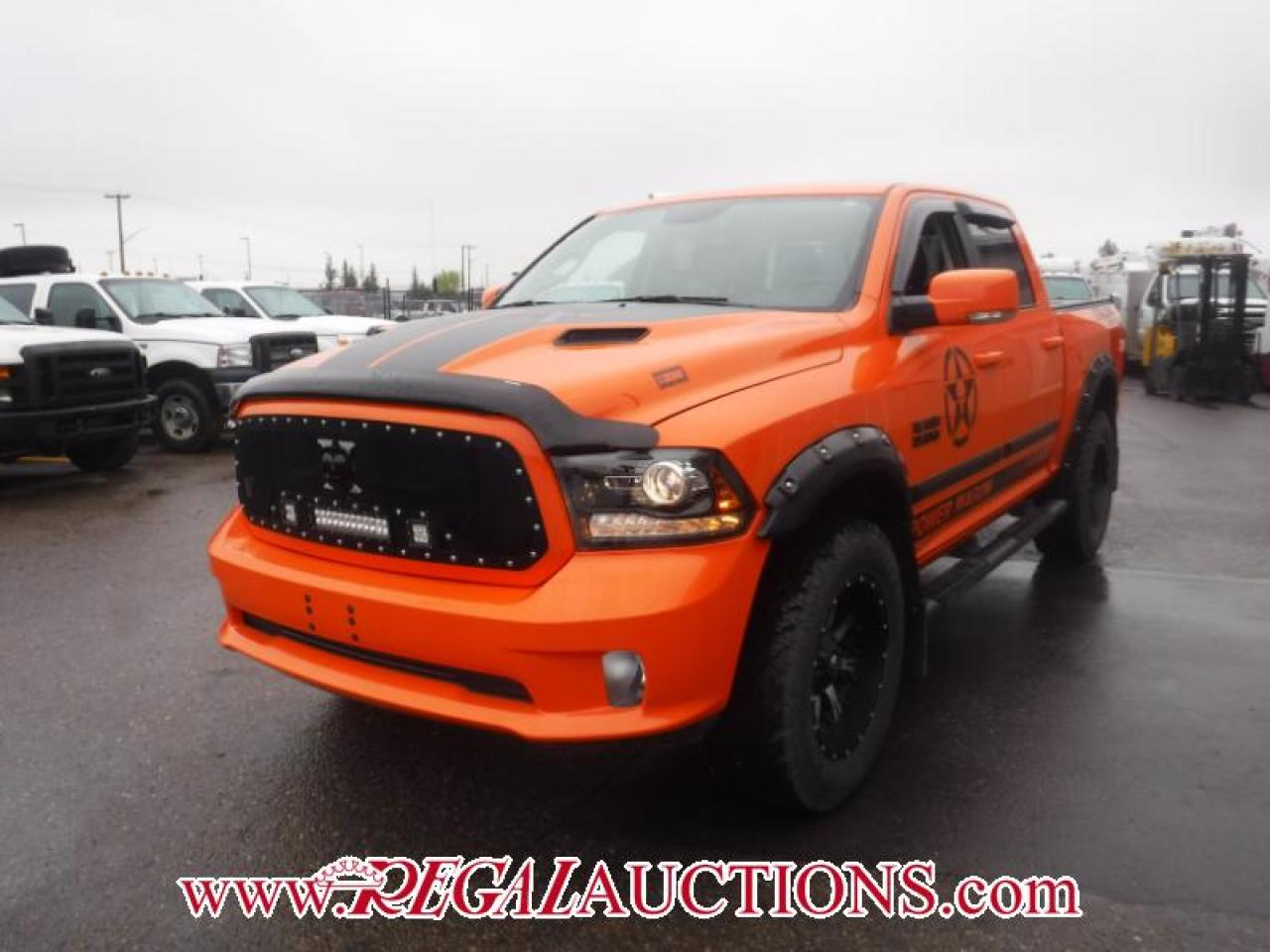Photo of Orange 2017 RAM 1500