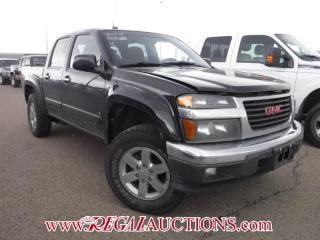 Used 2009 GMC CANYON SLE CREW CAB 2WD for sale in Calgary, AB