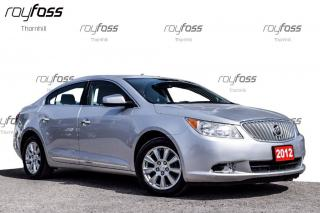 Used 2012 Buick LaCrosse Sunroof 2.4 E Assist. Remote Start for sale in Thornhill, ON