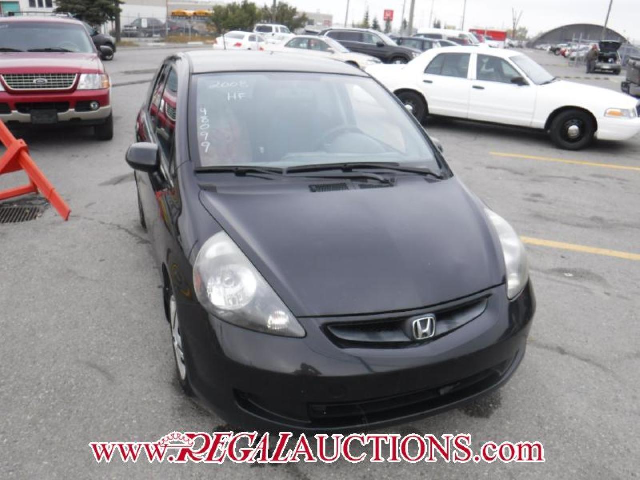 Photo of Black 2008 Honda Fit
