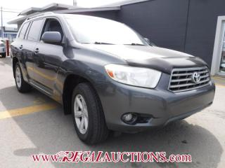 Used 2008 Toyota HIGHLANDER  4D UTILITY V6 for sale in Calgary, AB