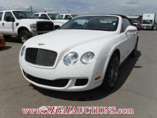 Used 2010 Bentley CONTINENTAL GTC CONVERTIBLE 2D AWD 6.0L for sale in Calgary, AB